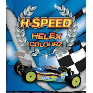 H-SPEED Lexan Spray rot/red HSPS006