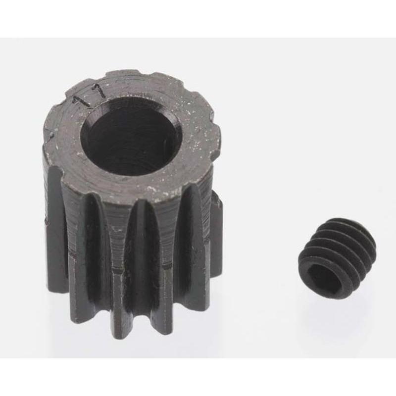 Extra Hart 11 tooth Blackened Stahl 32p Ritzel 5mm