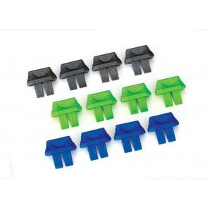 TRAXXAS Akku-Ladezustand-Indikator (4x grün. 4x blau. 4x grau) TRX2943