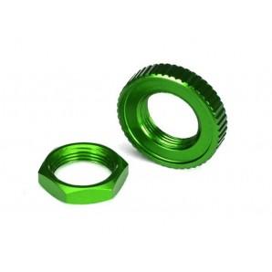 Servo Saver Muttern Alu grün (hex (1)