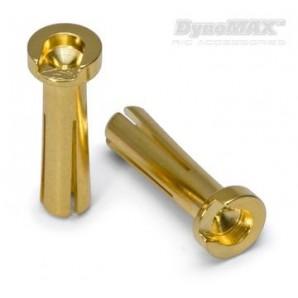 Stecker Bullet 4mm männlich Auto 10 Stück