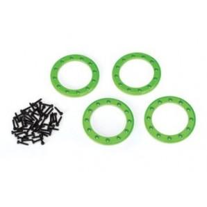 Beadlock Rings 1.9 Alu Green (4)