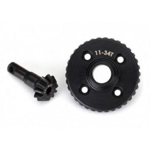 Ring gear differential pinion gear 11/34T (CNC) TRX-4