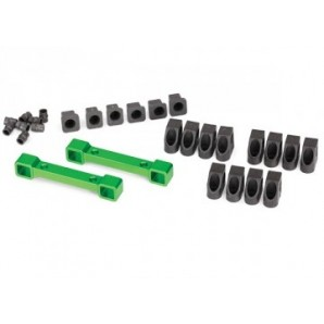Mount Susp Arms Front and Rear Alu Green