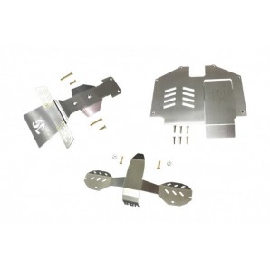 STAINLESS  STEEL SKID PLATES FOR FRONT