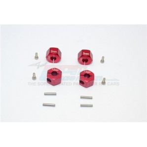 ALUMINUM HEX ADAPTERS 9MM THICK-12PC SET