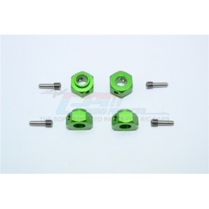 ALUMINUM HEX ADAPTERS 6MM THICK-8PC SET