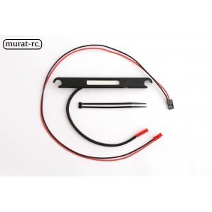 "murat-rc LED Rear ""Stop"" Light Traxxas X-MAXX 6S 8S waterproof rc117"
