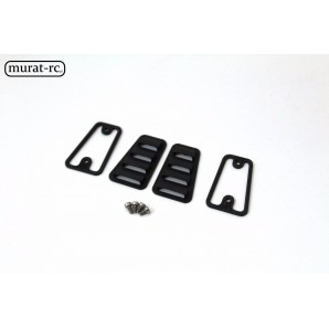 murat-rc Vent Hood Louvre Grille Cover for TRX-4 D110  rc137