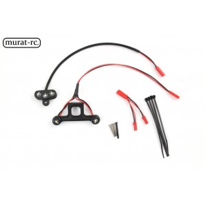 murat-rc LED lights front and rear rustler 4x4 VXL  RC163