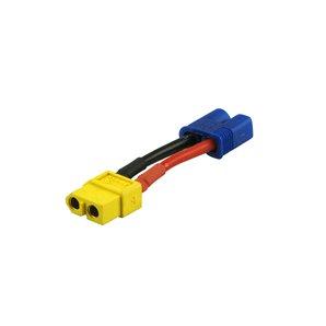 Adapter XT60 Buchse zu EC3 Stecker